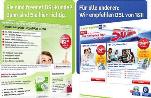 Freenet 1und1 DSL