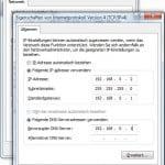 IP manuell vergeben