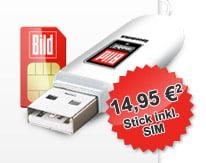 BILDmobil Surfstick - Mobiles Internet ab 14,95 Euro