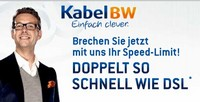 Kabel BW Highspeed DSL