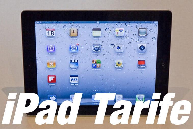 iPad Tarife - Internet-Flatrates