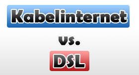 Kabelinternet vs DSL