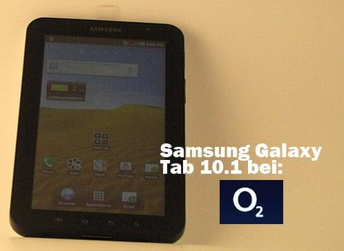 Galaxy Tab bei o2