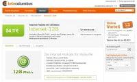 Tele Columbus 128 Mbit/s