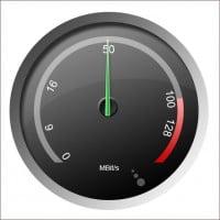 Maximale Download-Speeds aller Internetanbieter
