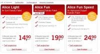 Alice Internet Vertrag September