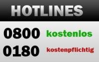 DSL-Anbieter Hotlines
