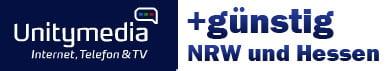 Günstigere Tarife mit Unitymedia – Surfen in NRW und Hessen