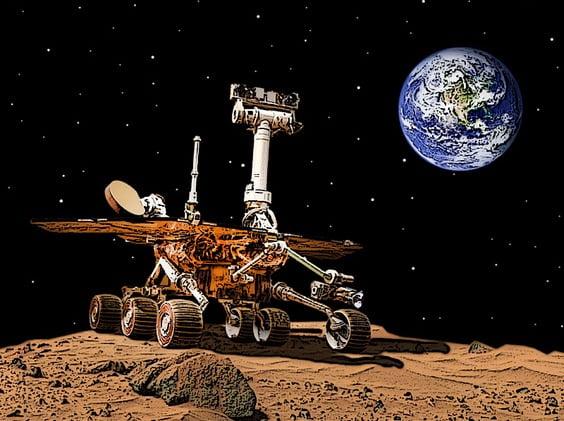 Mars Vernetzung