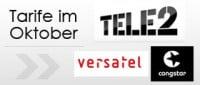 Tele2 Versatel Congstar
