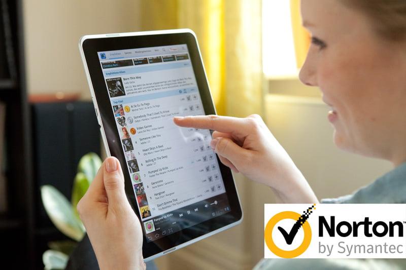 Telekom-Sicherheitspaket mit Norton-Software