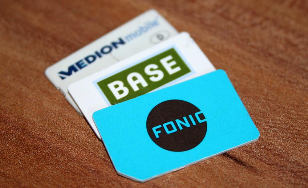 Prepaid SIM-Karten