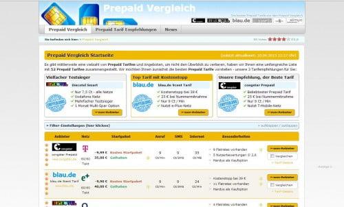 Prepaidvergleich24 Startseite